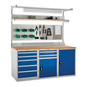 1800mm System Tek Workbenches