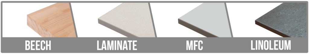 Worktop Options Banner