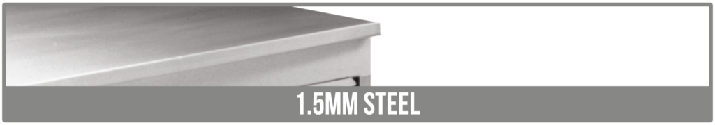 Worktop Options stainless steel