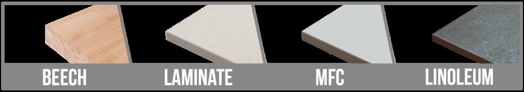 Worktop Options Banner