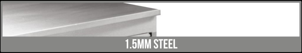 Worktop Options stainless steel
