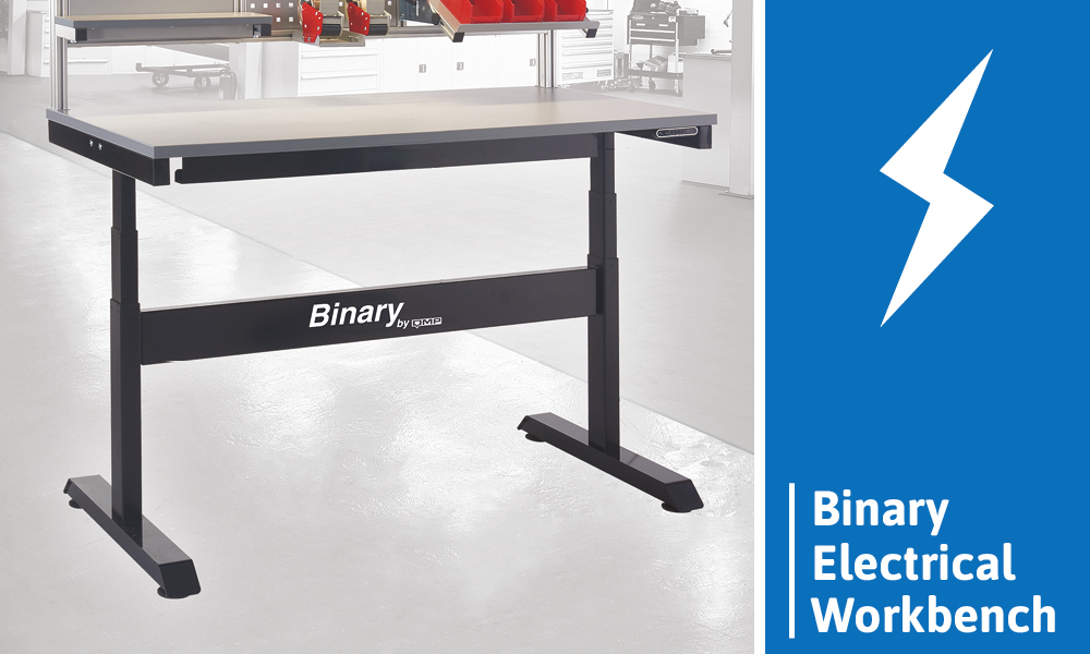 Height Adjustable Workbench - Binary Electrical Workbench