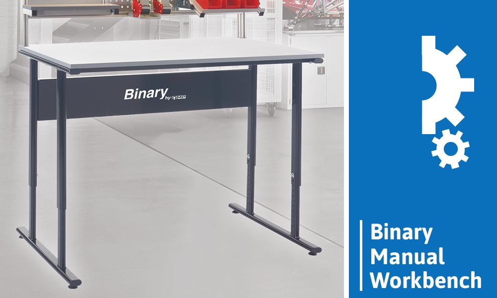 Height Adjustable Workbench - Binary Manual Workbench