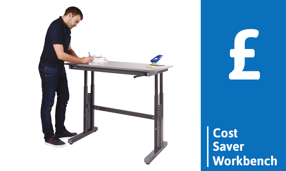 Height Adjustable Workbench - Cost Saver Workbench