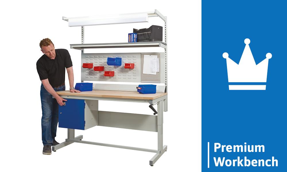 Height Adjustable Workbench - Premium Workbench