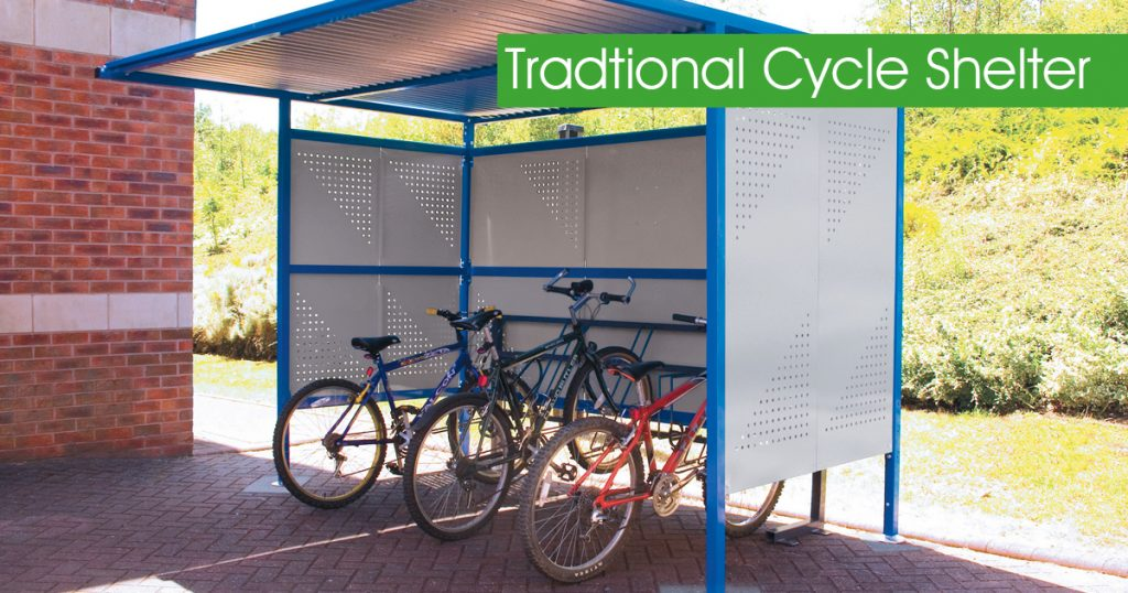 Traditional Cycle Shelter