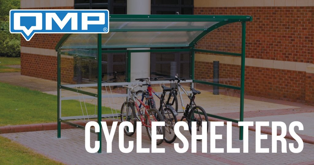 Cycle Shelters at QMP