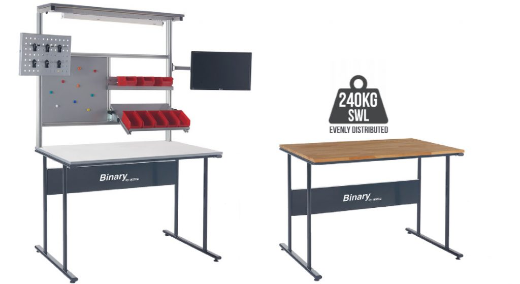 Fixed Height Binary Workbenches