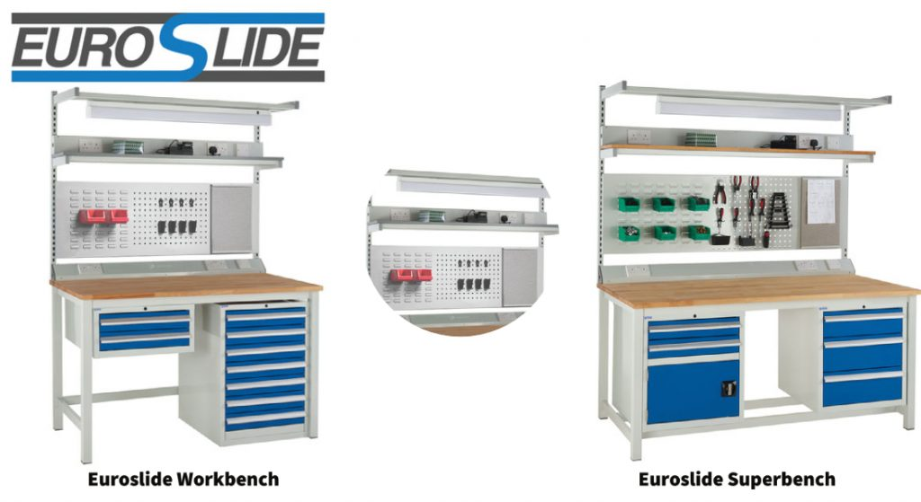 Euroslide Workbenches and Superbenches