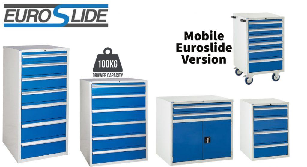 Euroslide Tool Storage Cabinets & Mobile Cabinets