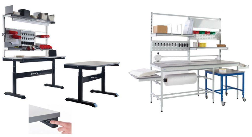 Binary Workbenches & Pack Tek Workbenches