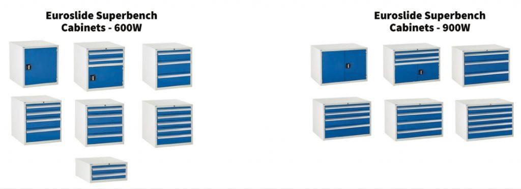 Euroslide Superbench Cabinets