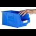 Plastic Storage Containers 240x150x132 - Blue Colour - Pack Qty 20 (Size 3)