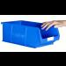 Plastic Storage Containers 350x205x132 - Blue Colour - Pack Qty 10 (Size 4)