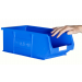 Plastic Storage Containers 350x205x132 - Green Colour - Pack Qty 10 (Size 4)