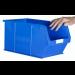 Plastic Storage Containers 350x205x182 - Blue Colour - Pack Qty 10 (Size 5)