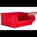 Plastic Storage Containers 375x420x182 - Blue Colour - Pack Qty 5 (Size 6)