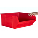 Plastic Storage Containers 375x420x182 - Red Colour - Pack Qty 5 (Size 6)