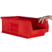Plastic Storage Containers 520x310x200 - Red Colour - Pack Qty 5 (Size 7)