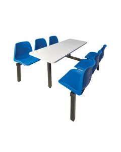 Canteen Furniture - 6 Seater - Double Entry