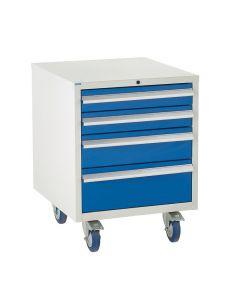 Euroslide Under Bench Cabinets - 780H.600W.650D