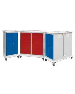 Laptop & Tablet Charging Trolleys - UK Locker Manufacturer