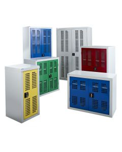 Perforated Cupboards - Group Shot