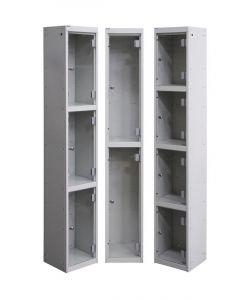 Perspex Door Lockers - UK Locker Manufacturer