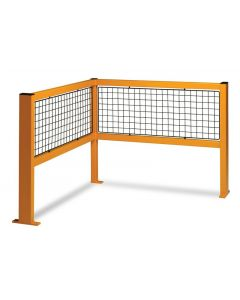 Fully Welded Barriers - Corner Open Barrier