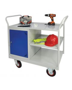 Mobile Maintenance Trolley - Drawer & 3 Shelves - RTDS109060SB