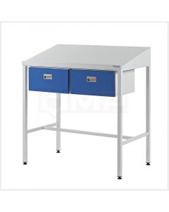 Team Leader Workstations - Two Single Drawers