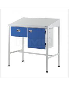 Team Leader Workstations - Single Drawer & Cupboard