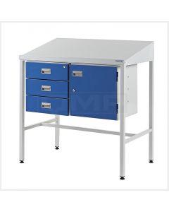 Team Leader Workstations - Triple Drawer & Cupboard