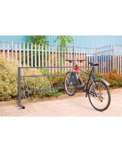 Traditional Rack shown in QMP Cycle Shelter - SRTRADCR8KXX