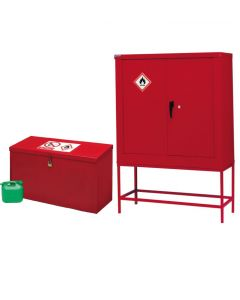 Petroleum & Flammable Liquid Cupboards - On Stand