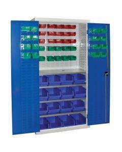 Container Storage Cupboard - With Doors