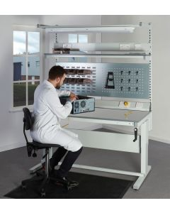 ESD Premium Height Adjustable Workbench Thumbnail - UK Workbench Manufacturer