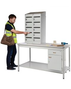 Mailroom Workbenches - Metal Workbenches