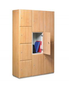 Timber Door Lockers