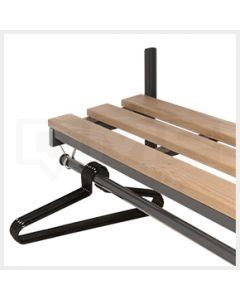 Locker Room Furniture - Wall Mounted Garment Rails