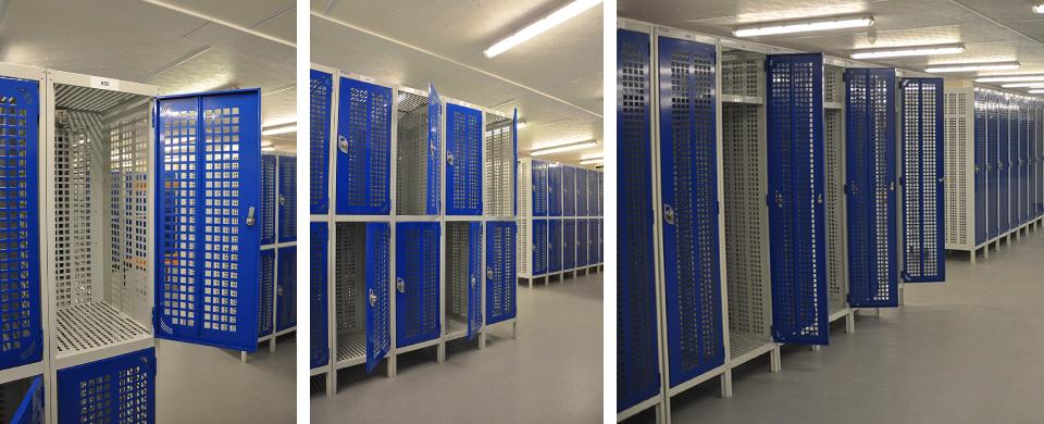 Perforated Lockers 2